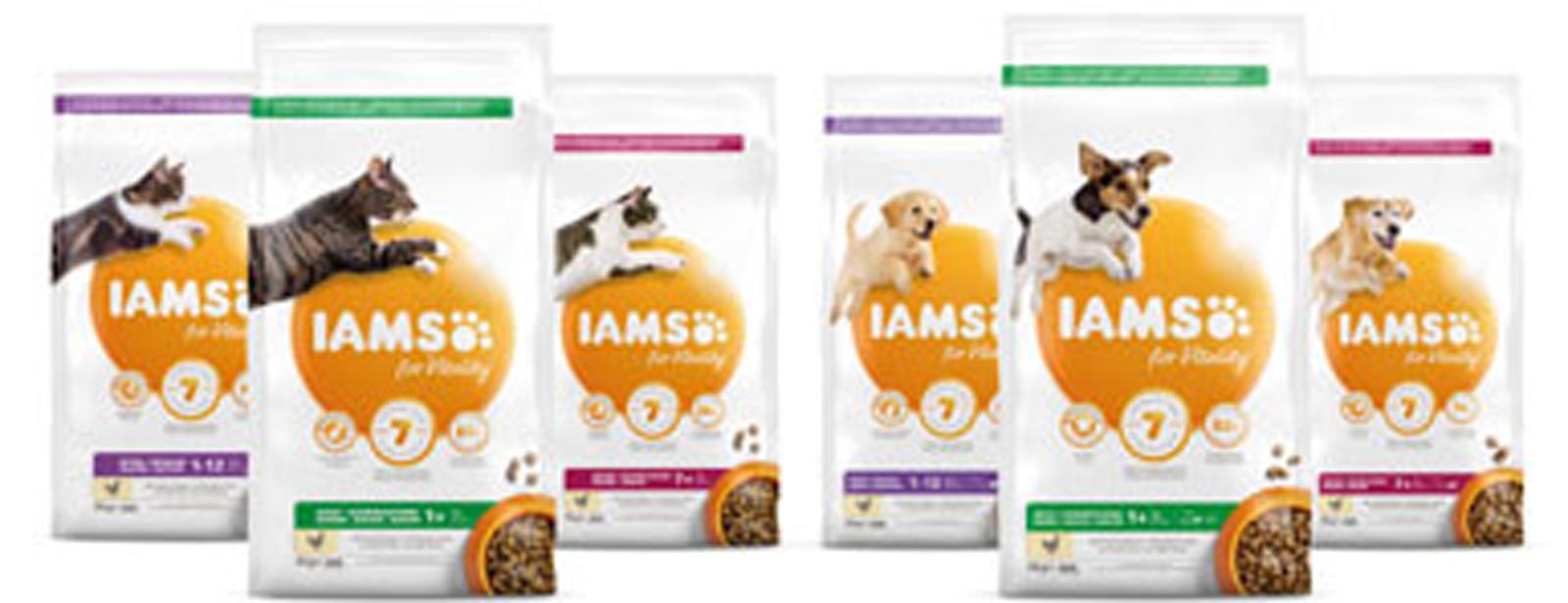 Schwedt Fauna - Das aktuelle IAMS Futtersortiment